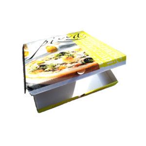 cartone per pizza d'asporto