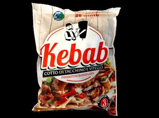 kebab tagliato surgelato